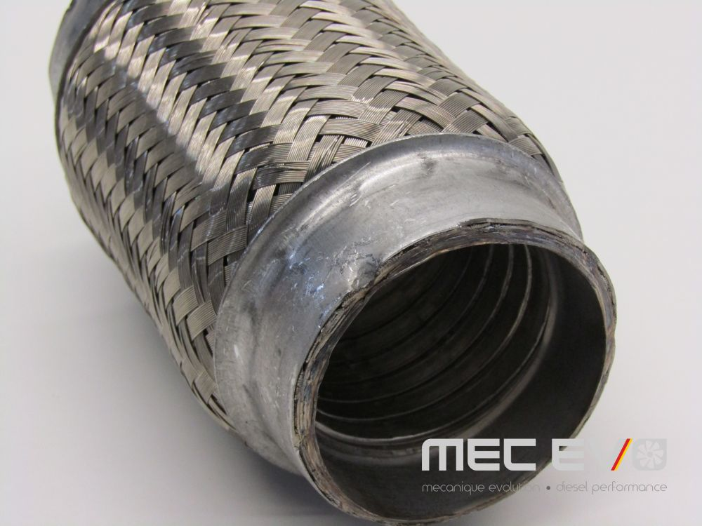 2.5'' X 6'' Interlock 304 Stainless Steel Exhaust Flexible
