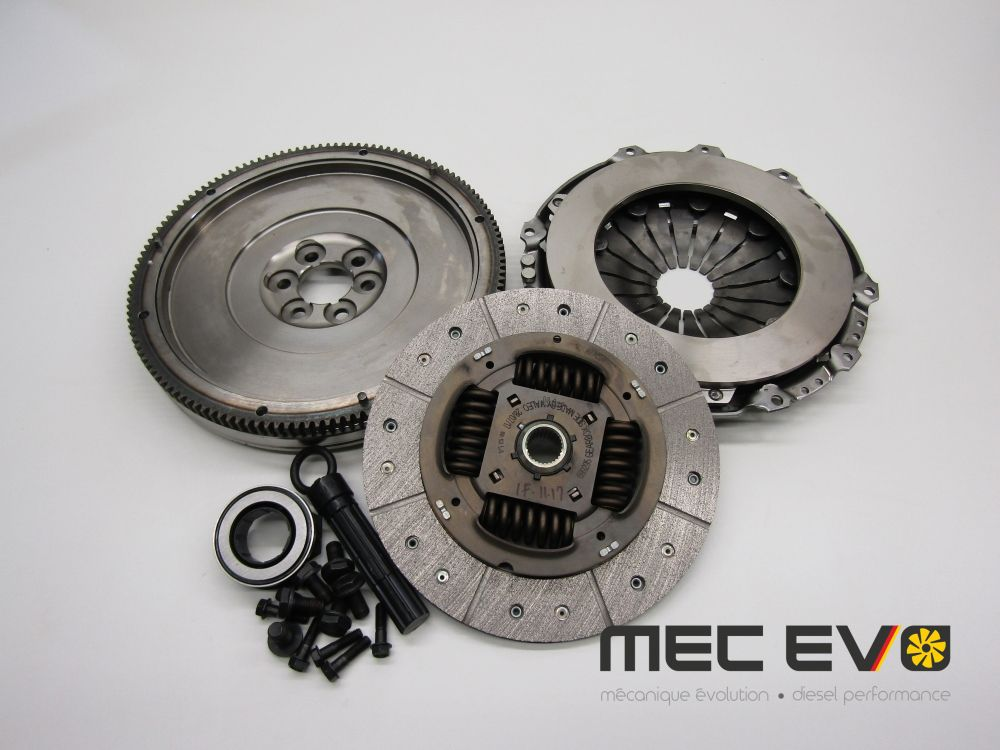 Performance Valeo single mass clutch kit + flywheel 228mm For 5 speed
