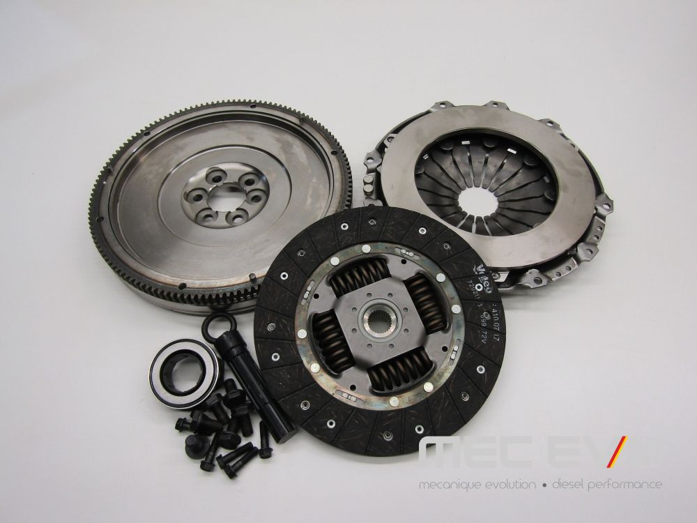 Valeo Single Mass Clutch Kit + Flywheel 228mm 5 speed