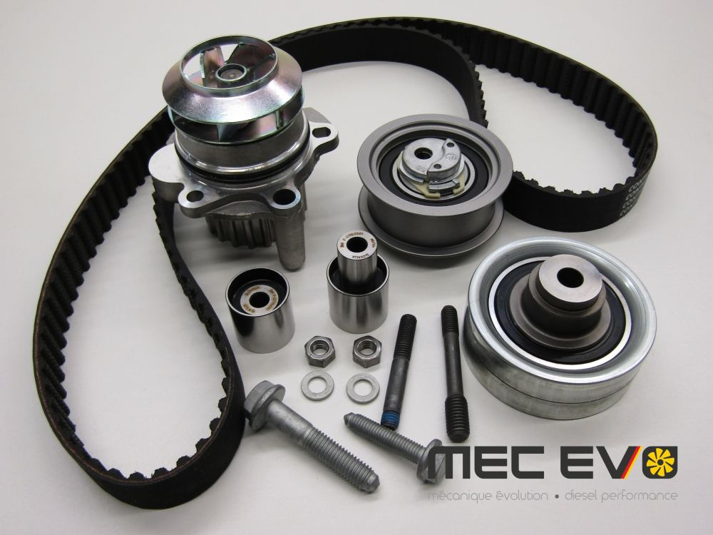 Timing belt kit/waterpump HEPU MK4 ALH