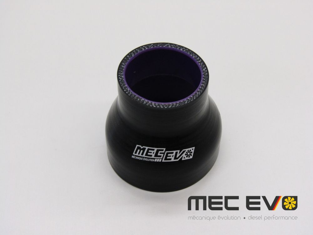 Mec Evo 2'' to 3'' straight silicone coupler.