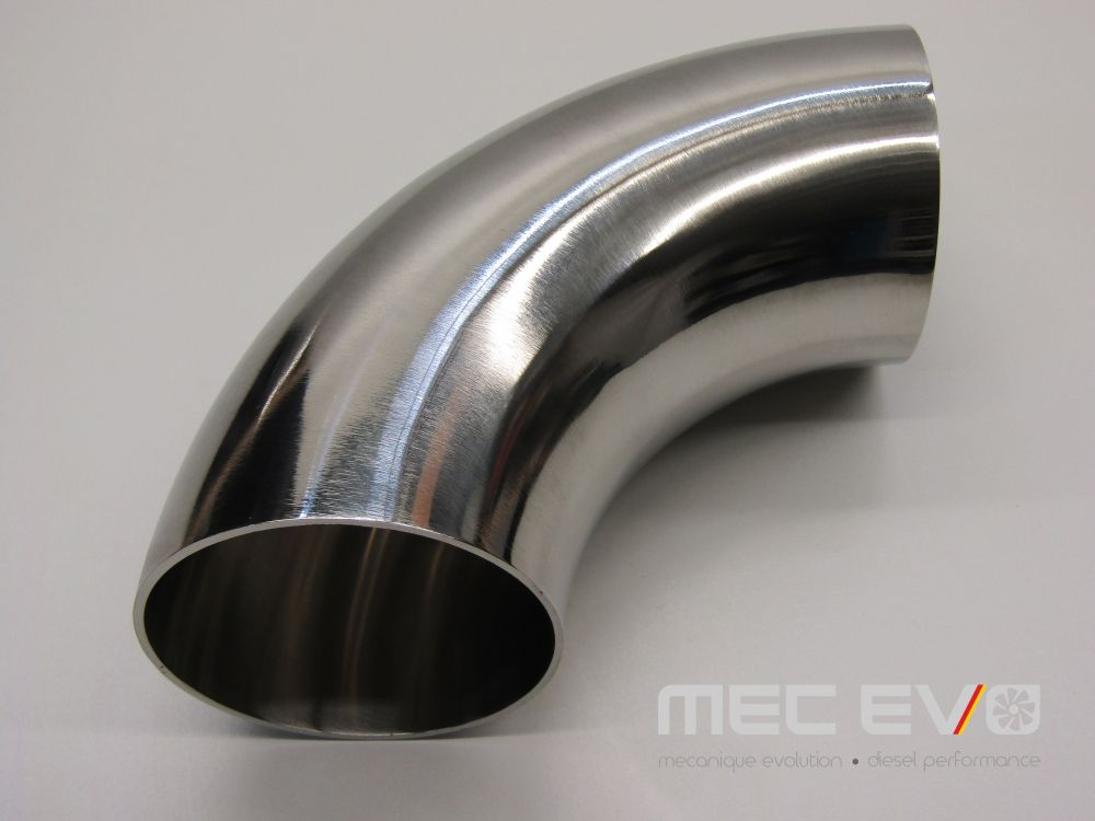 3'' SS304 90 degree polished elbow