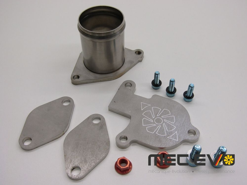 EGR Valve Delete - Race Pipe Kit For BHW