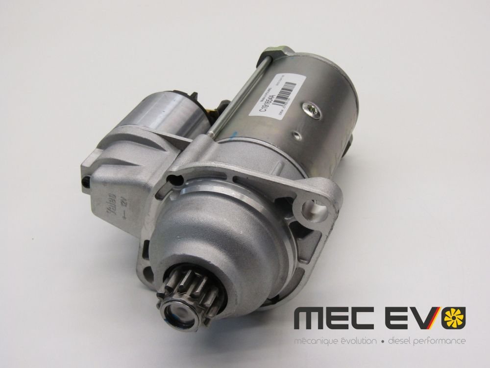 High power Valeo starter for 5spd manual