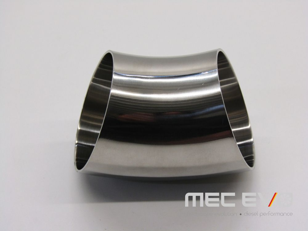 3'' SS304 45 degree polished tube.