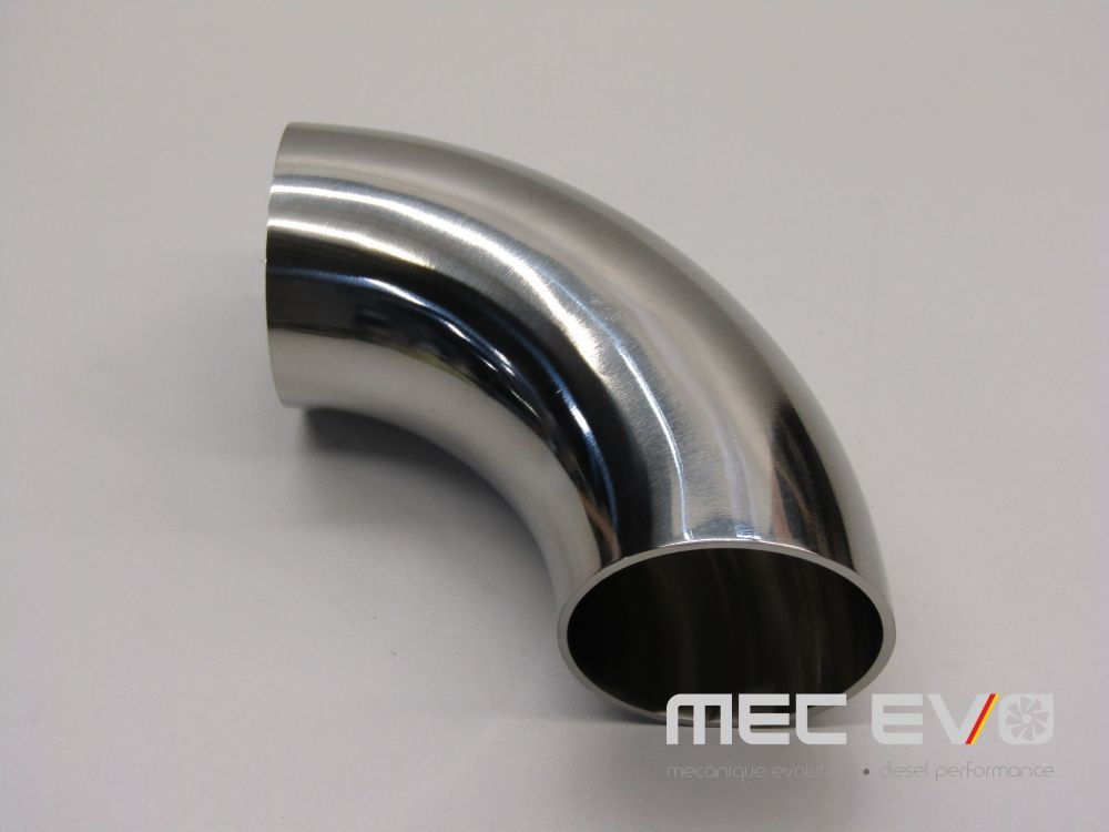 2'' SS304 90 degree polished elbow.