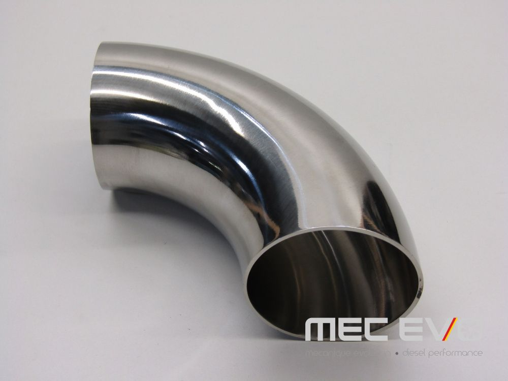 2.5'' SS304 90 degree polished elbow.