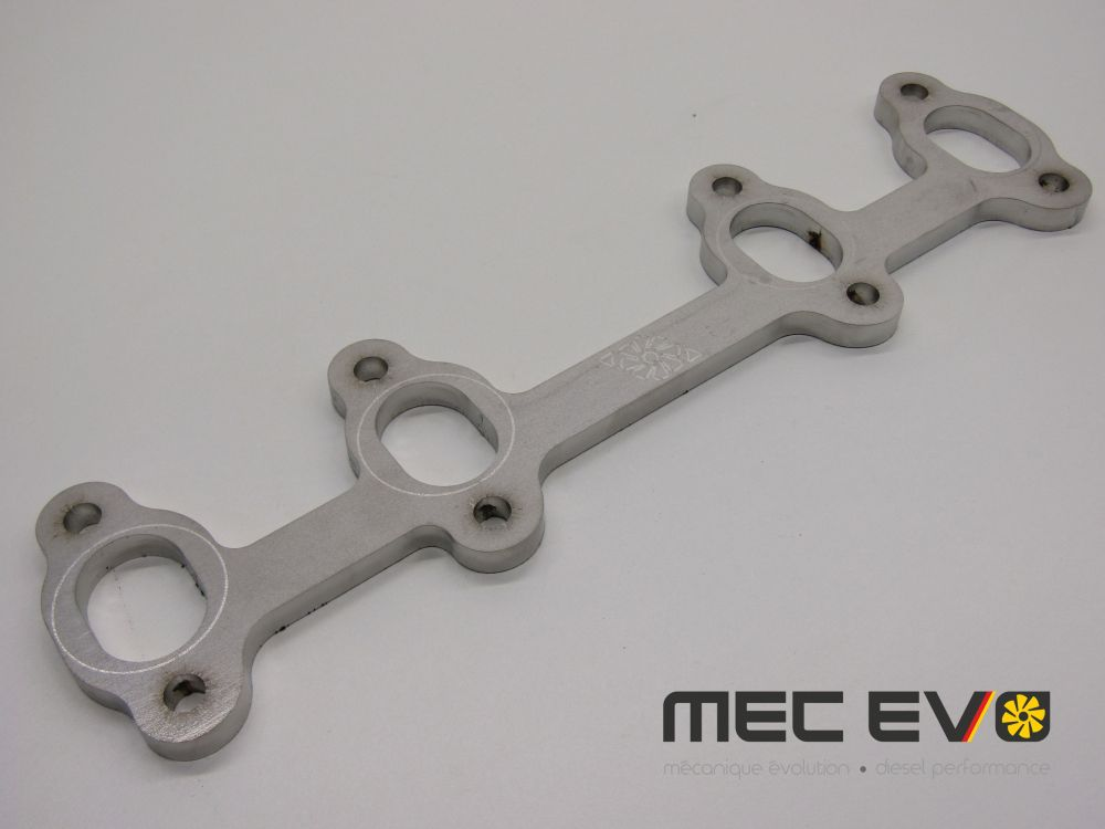 8 Valve Stainless Steel Cylinder Head Flange