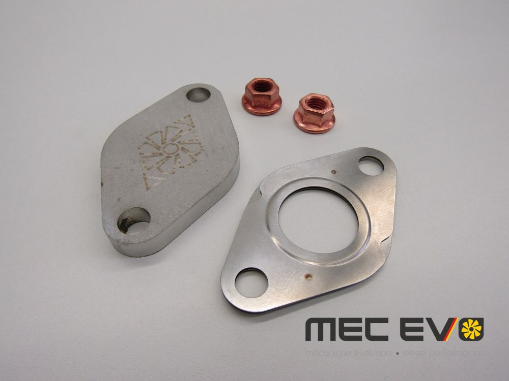 Large EGR Block off plate kit