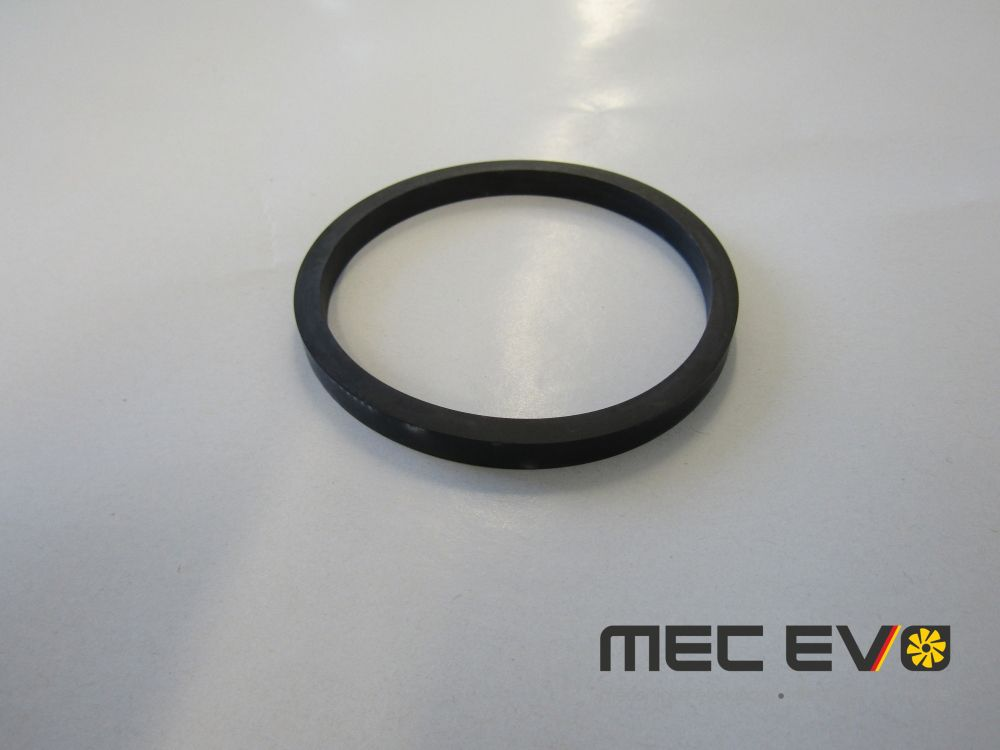 Oil cooler seal lower