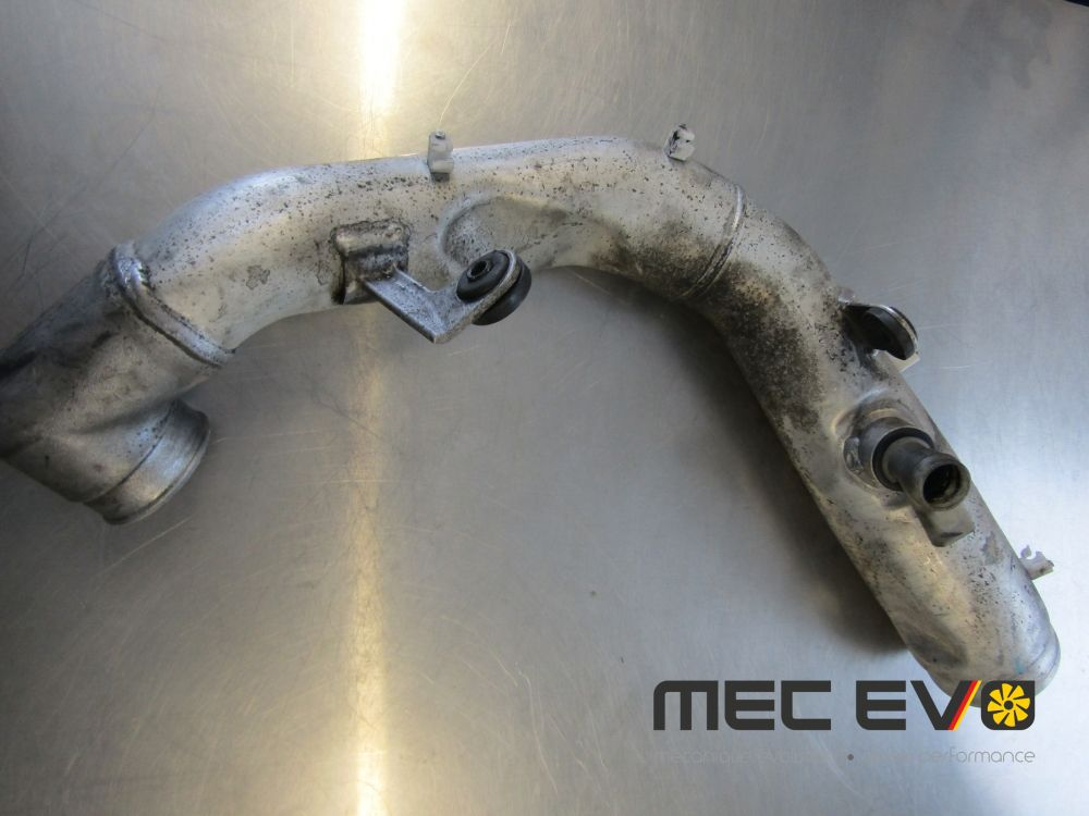 used PD150 Aluminium Air inlet pipe